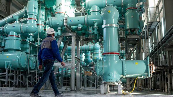 Строительство Балаклавской ТЭС в Крыму. Архивное фото