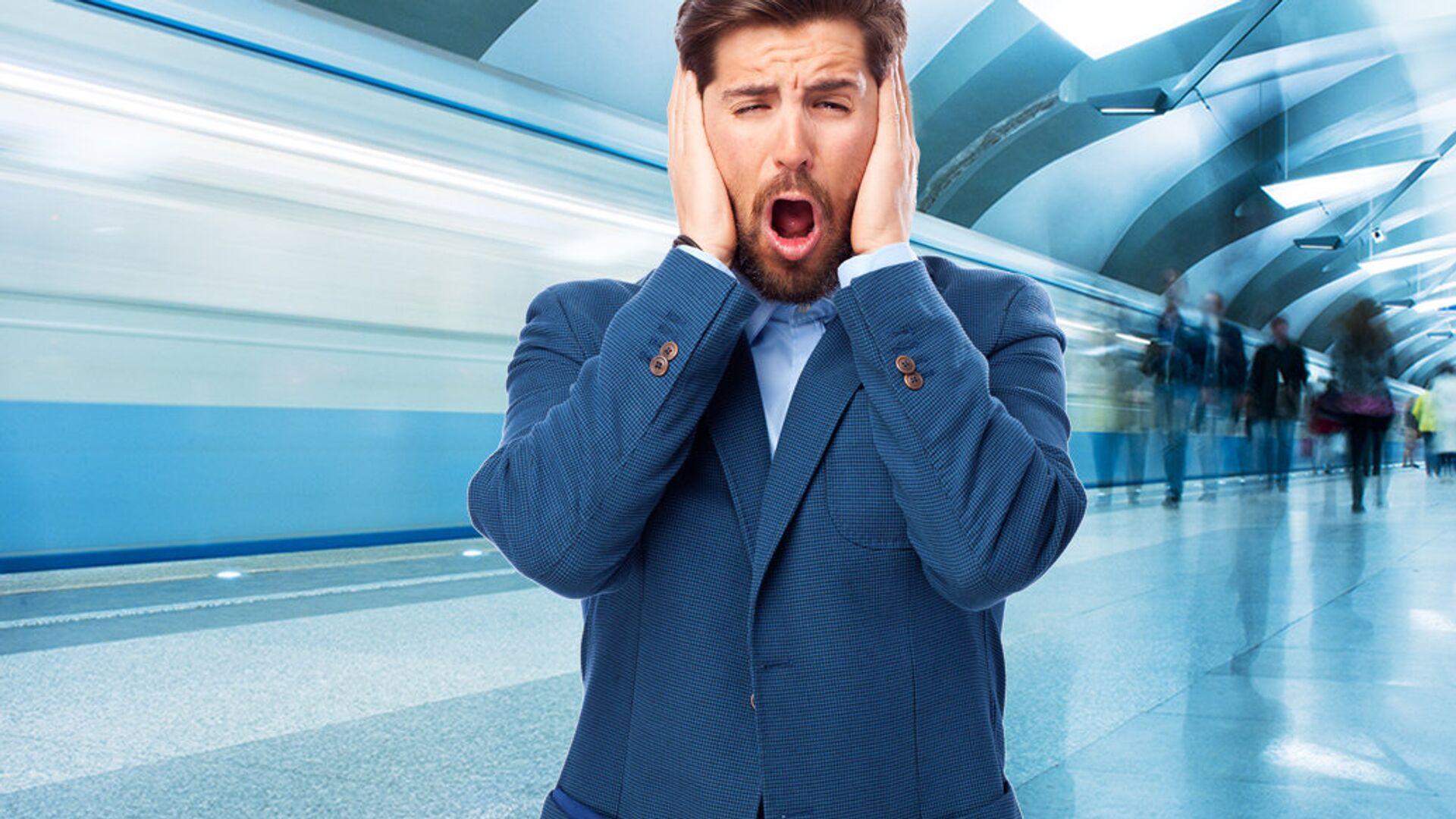 Шум метро негативно влияет как на нервную систему, так и на слух - РИА Новости, 1920, 27.03.2021