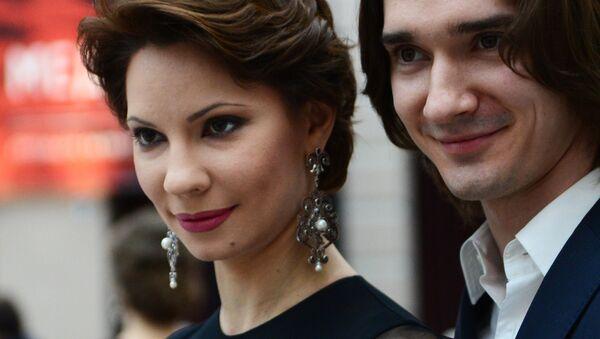 Солисты балета Государственного академического Большого театра России Мария Александрова и Владислав Лантратов