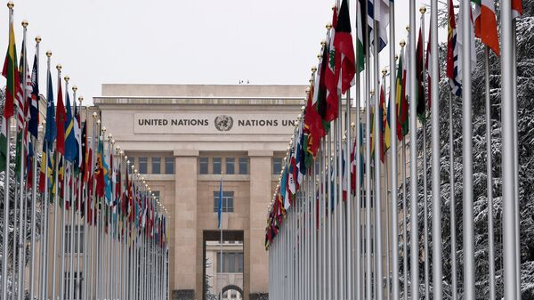Здание Совета по правам человека ООН в Женеве
