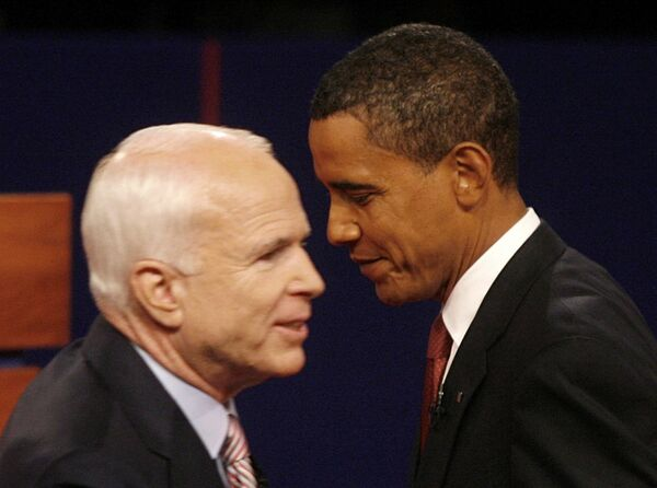 Обама и Маккейн померились силами в дебатах