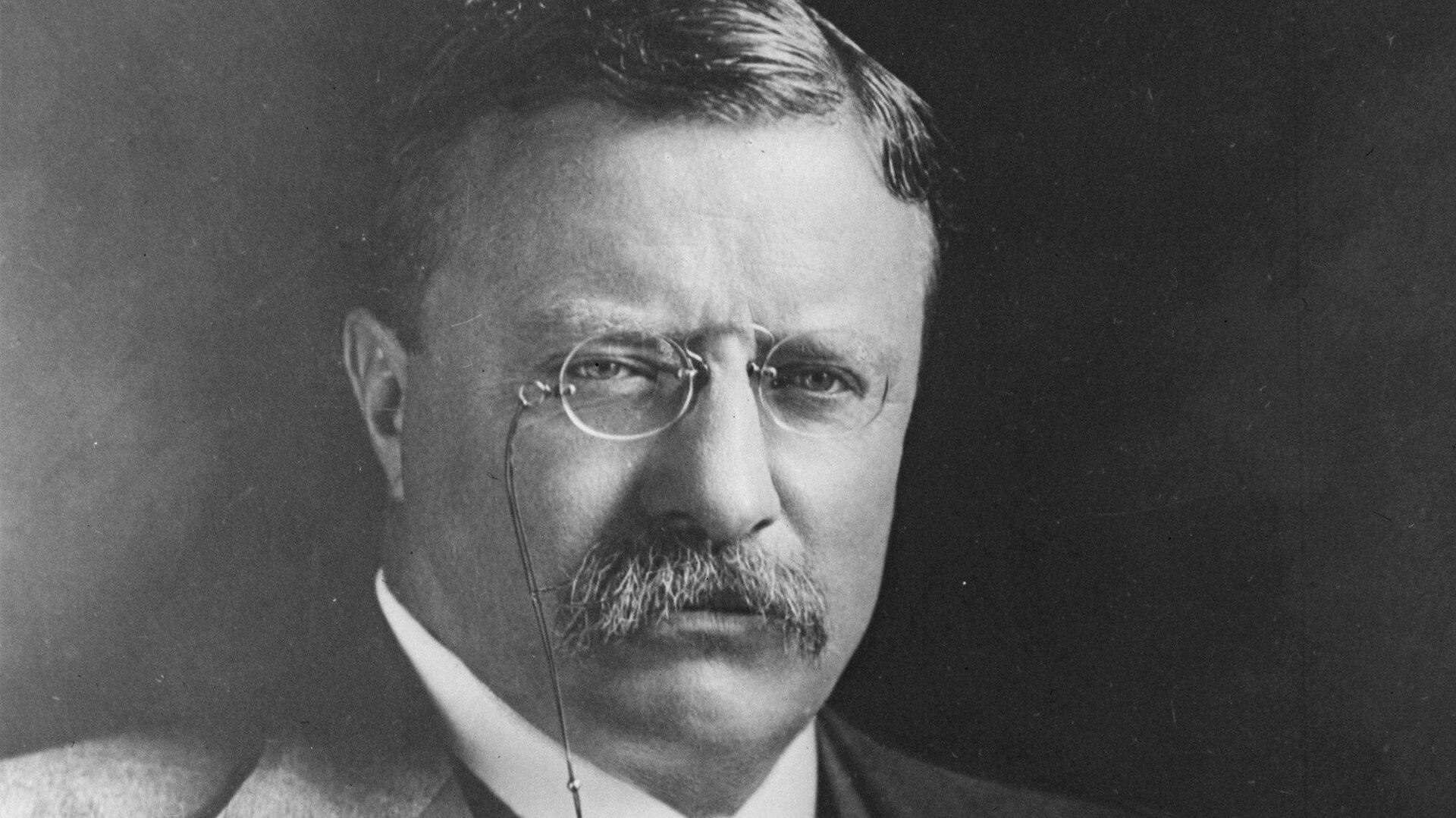 26-й президент США Теодор Рузвельт - РИА Новости, 1920, 14.10.2020