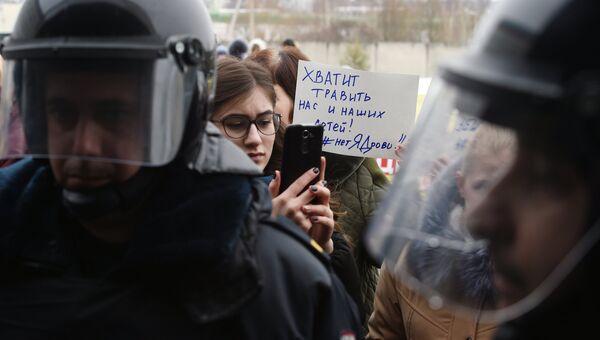 Ситуация с мусорным полигоном Ядрово в Волоколамске. 21 марта 2018