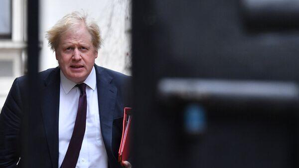 Экс-министр иностранных дел Великобритании Борис Джонсон. Архивное фото