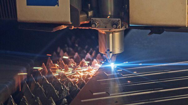 Лазерная резка металла на производственной площадке Ростсельмаш