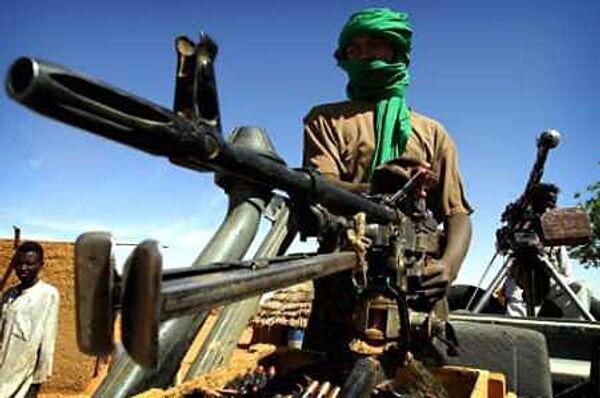 Суданские повстанцы. Архив