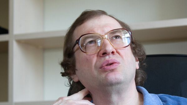 Предприниматель, основатель компании МММ Сергей Мавроди