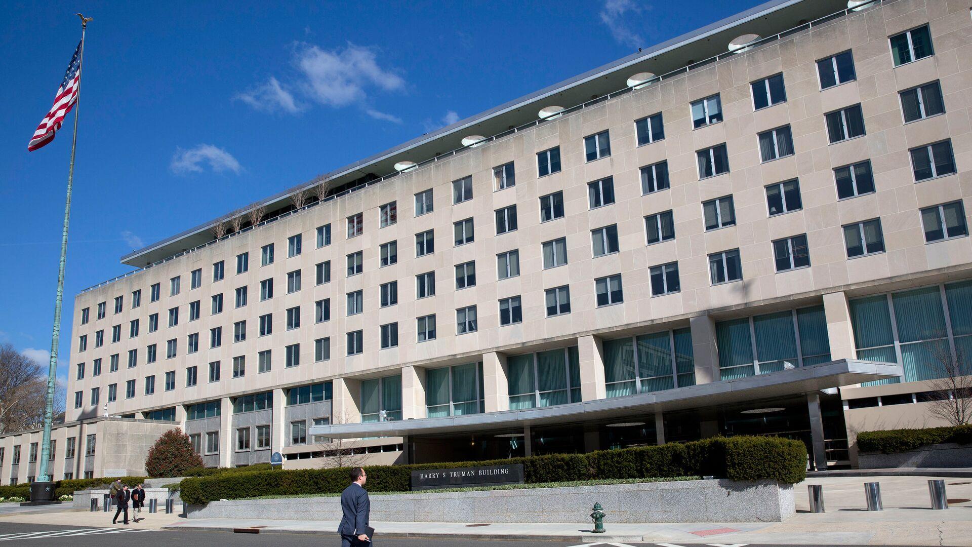 Здание Госдепартамента США в Вашингтоне - РИА Новости, 1920, 04.05.2021