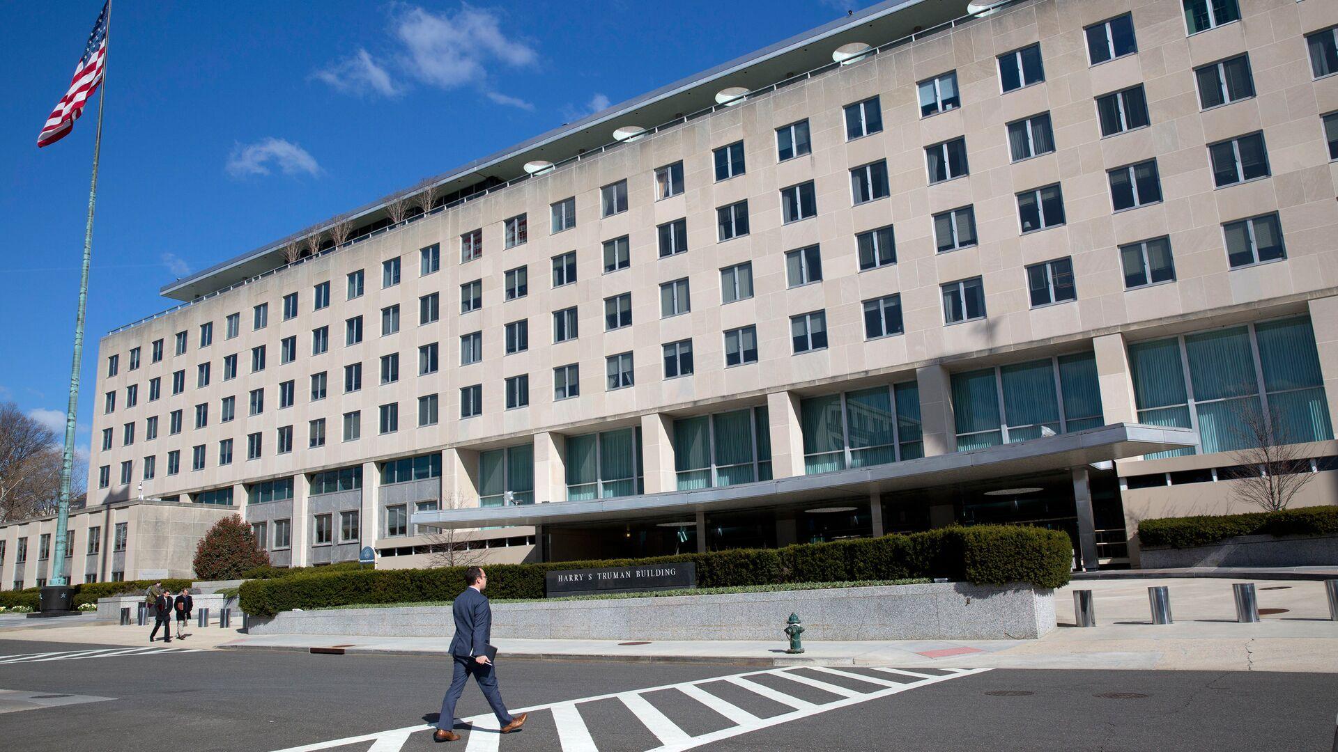 Здание Госдепартамента США в Вашингтоне - РИА Новости, 1920, 04.10.2021