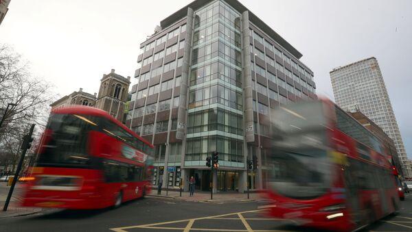Офис компании Cambridge Analytica в центре Лондона, Великобритания