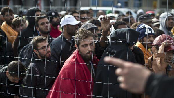 Мигранты на границе Австрии. Архивное фото