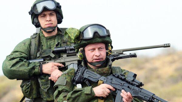 Экипировка для военнослужащих сухопутных войск Ратник