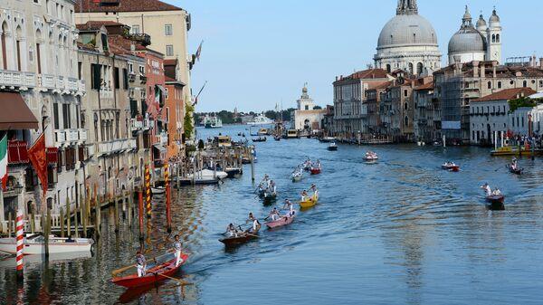 Фестиваль Regata Storica в Венеции