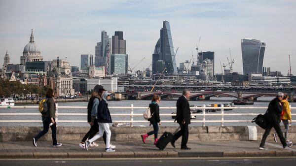 Вид на деловой квартал Лондона Сити. Архивное фото