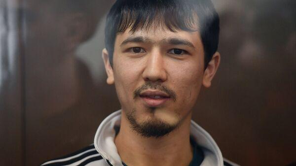 Обвиняемый по делу о теракте в метро Санкт-Петербурга Аброр Азимов на заседании Мосгорсуда