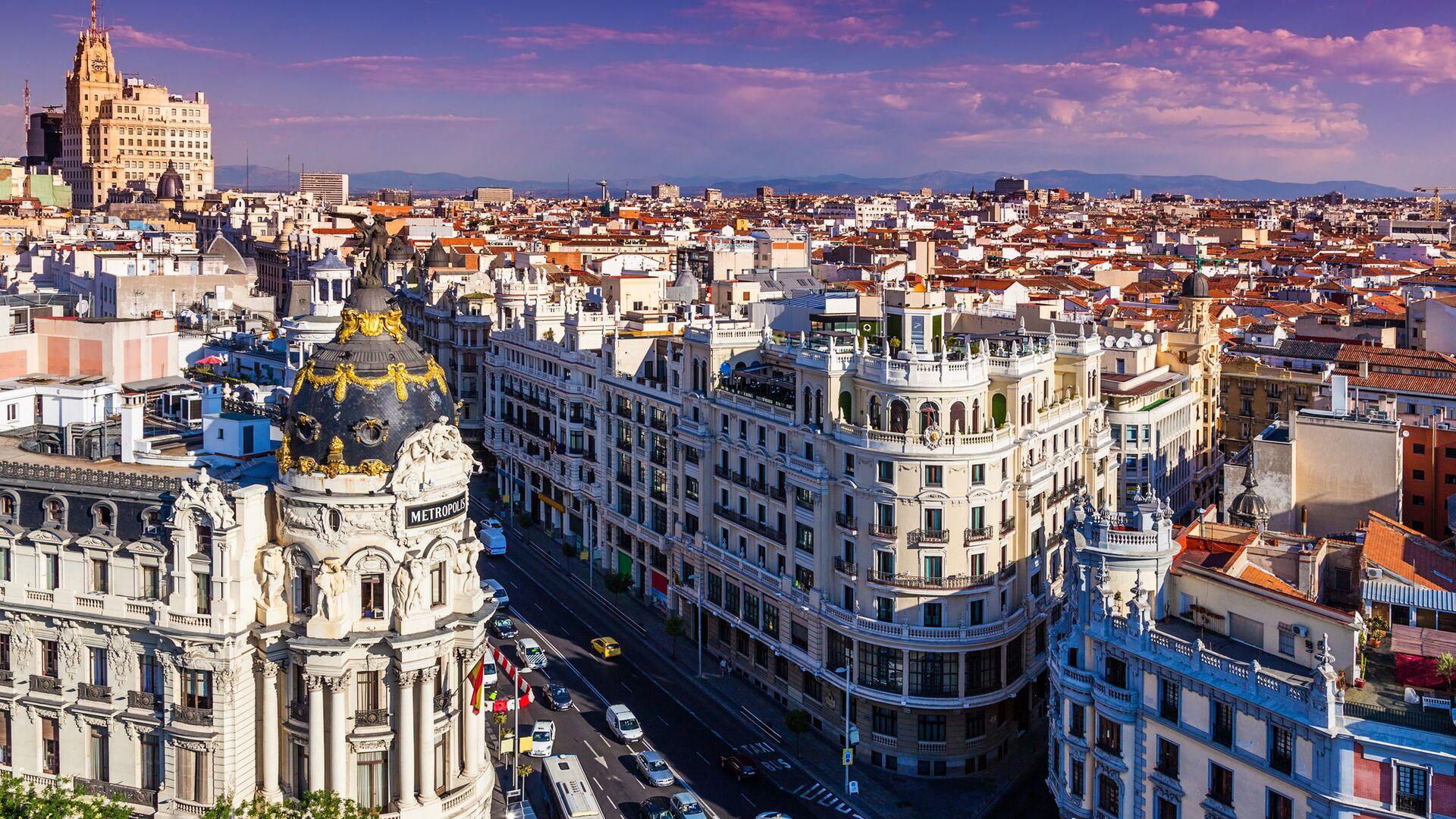 Мадрид, Испания - РИА Новости, 1920, 15.09.2021