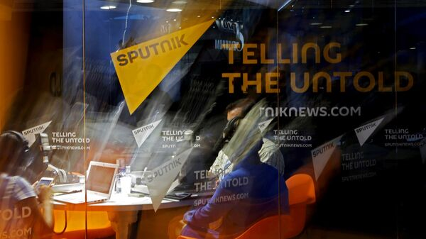Студия радио Sputnik