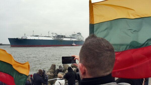 Терминал сжиженного природного газа в Клайпедском порту