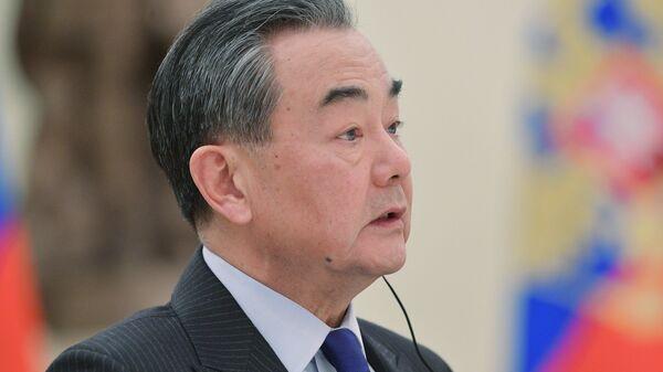 Министр иностранных дел КНР Ван И. Архивное фото
