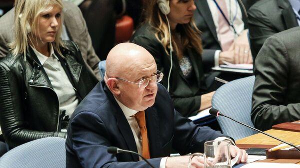 Постоянный представитель РФ при ООН Василий Небензя. Архивное фото