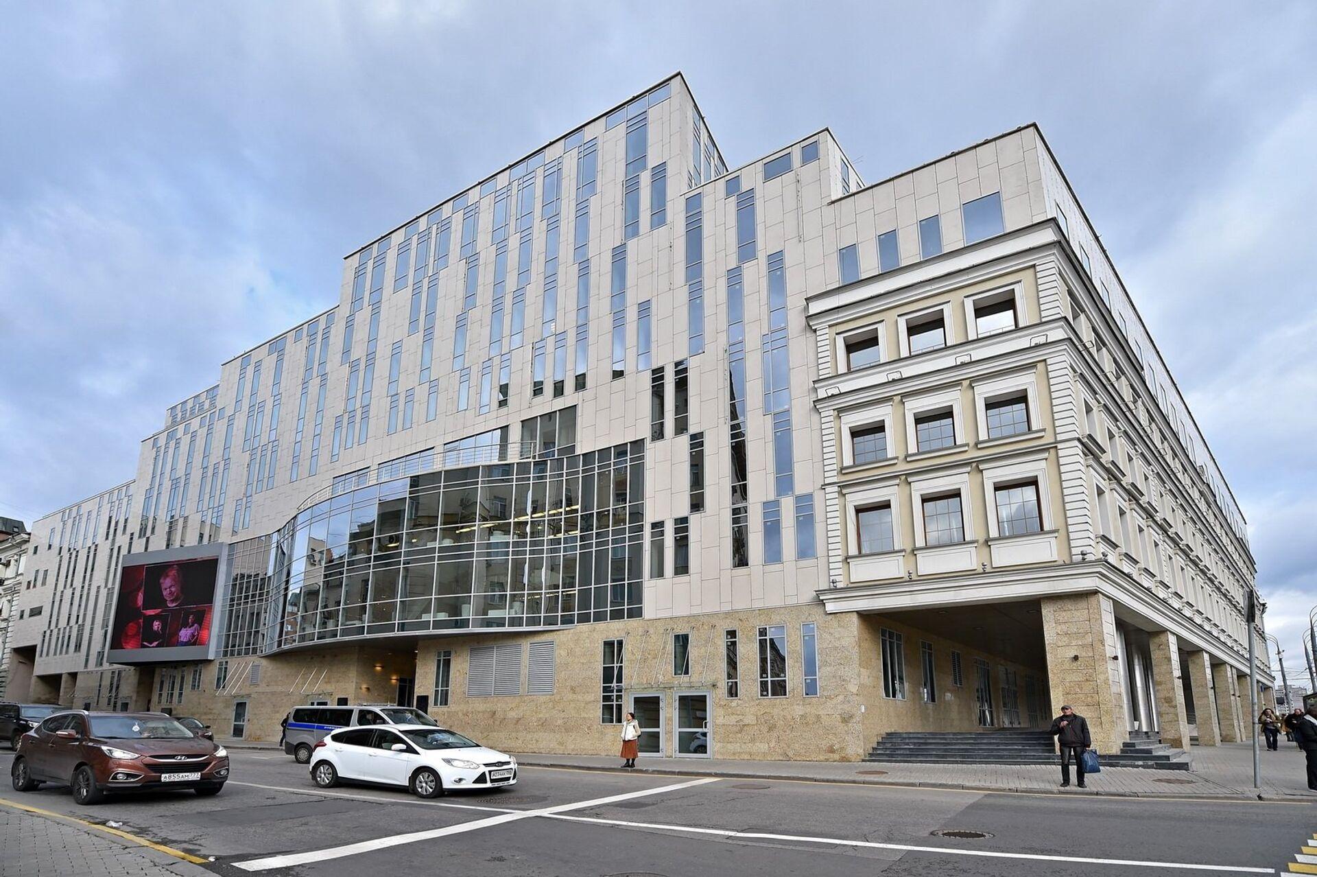 Новое здание театра Олега Табакова на Малой Сухаревской площади - РИА Новости, 1920, 24.05.2021