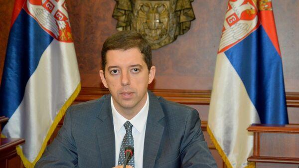 Директор Канцелярии по Косово и Метохии в правительстве Сербии Марко Джурич