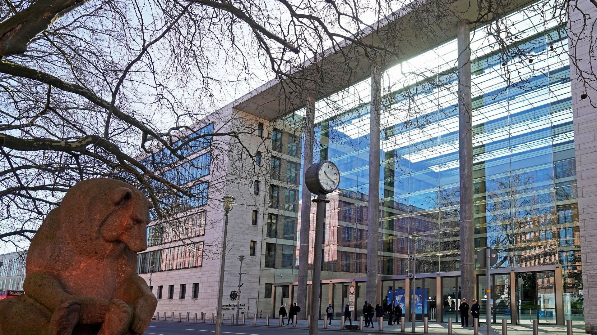 Здание Министерства иностранных дел Германии в Берлине - РИА Новости, 1920, 14.07.2021