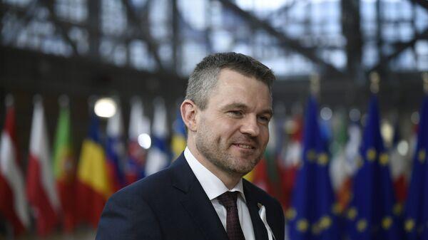 Премьер-министр Словакии Петер Пеллегрини. Архивное фото