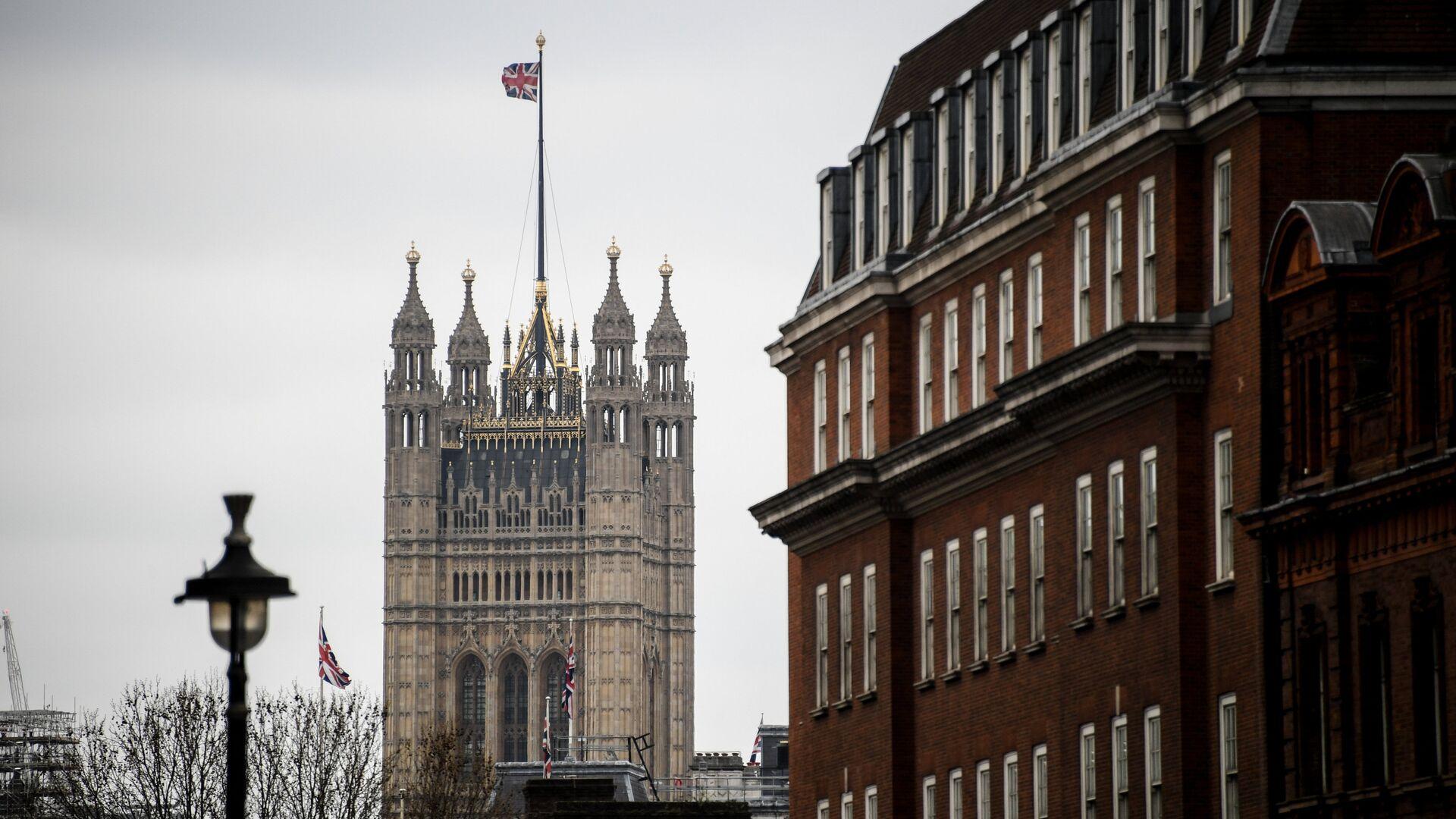 Башня Виктории Вестминстерского дворца в Лондоне - РИА Новости, 1920, 29.03.2021
