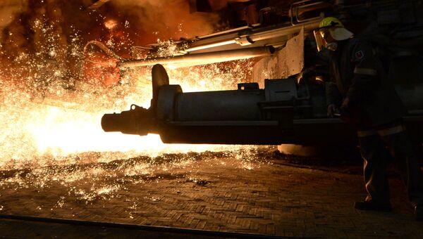Сталелитейный завод. Архивное фото