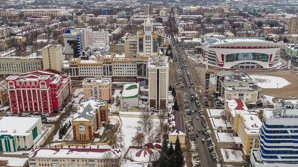 Вид на Саранск