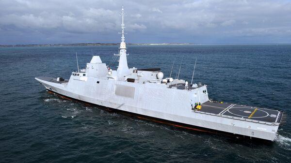 Французский фрегат Aquitaine