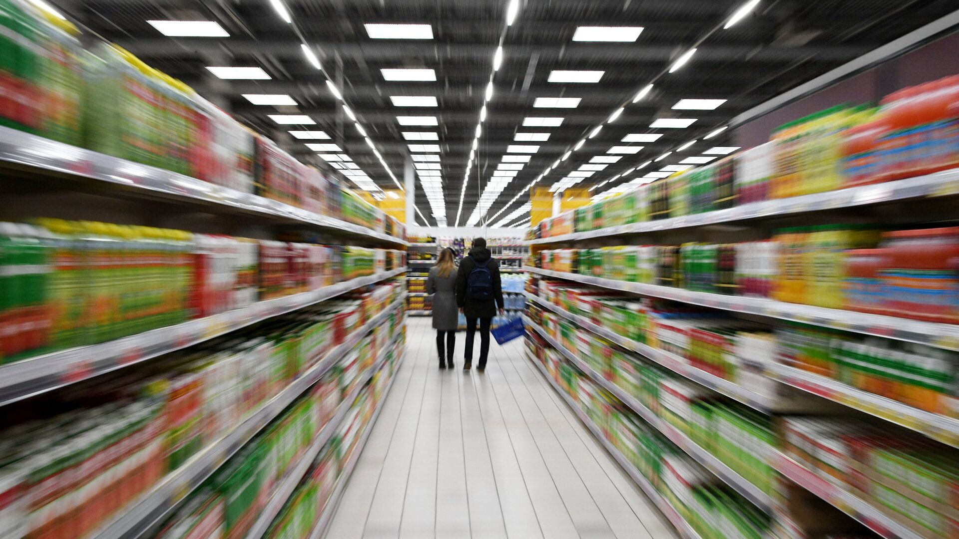 Покупатели в супермаркете - РИА Новости, 1920, 20.09.2021