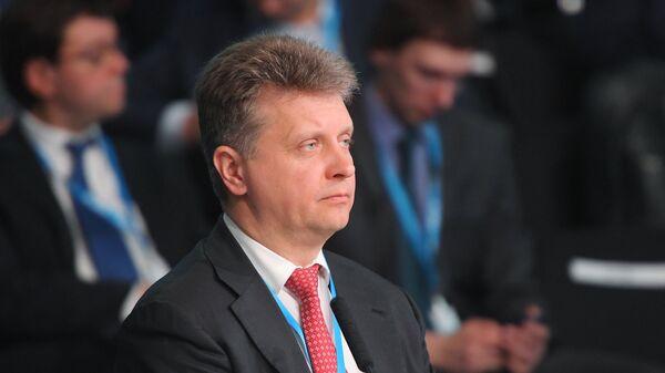 Министр транспорта РФ Максим Соколов на Красноярском экономическом форуме 2018