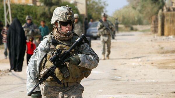 Американский военнослужащий в Ираке. Архивное фото