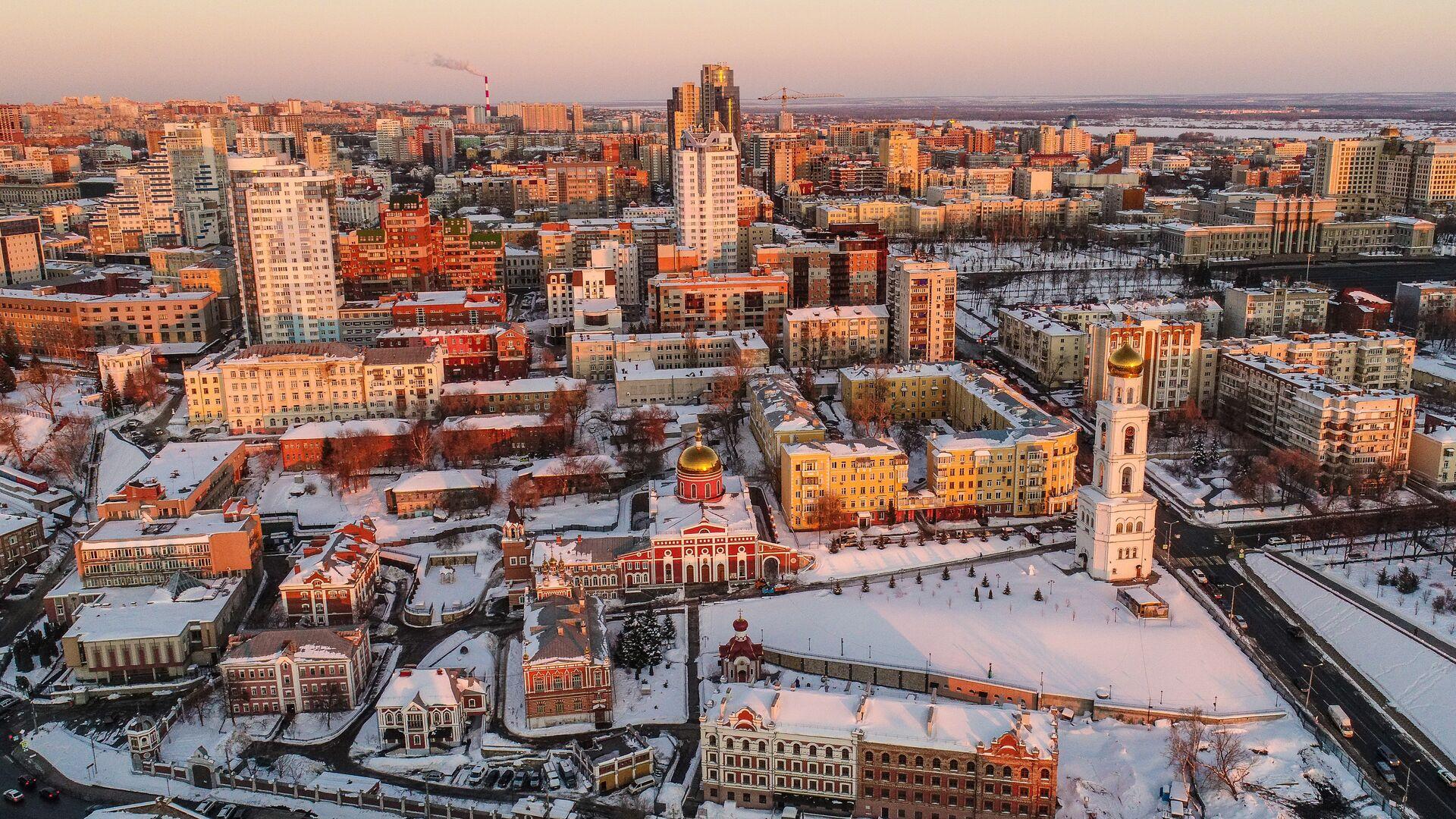 Вид на Самару - РИА Новости, 1920, 11.02.2021