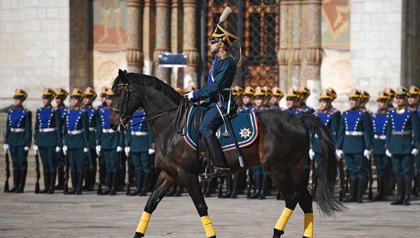 Военнослужащие Президентского полка. Архивное фото