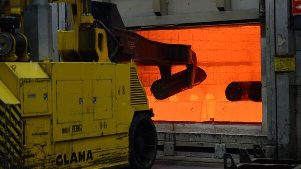 Производство титановых штамповок на ВСМПО-АВИСМА
