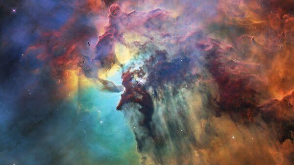 Туманность Лагуна снятая Хабблом
