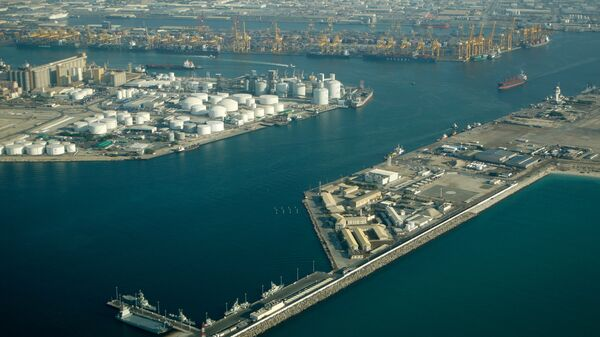 Порт в ОАЭ