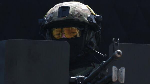 Сотрудник подразделения спецназначения ФСБ России