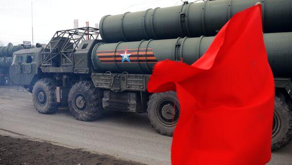 Зенитная ракетная система С-400 Триумф. Архивное фото