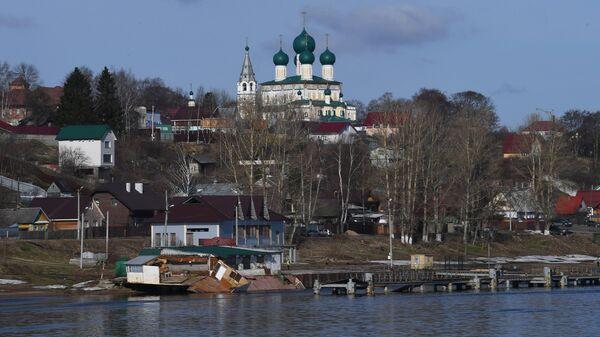 Воскресенский собор в городе Тутаев Ярославской области