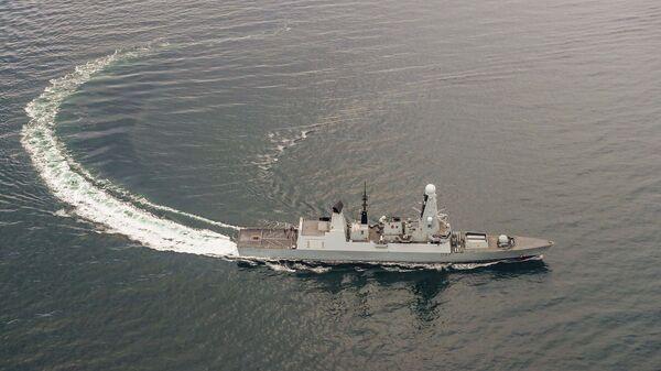 Ракетный эсминец HMS Duncan Королевского военно-морского флота Великобритании