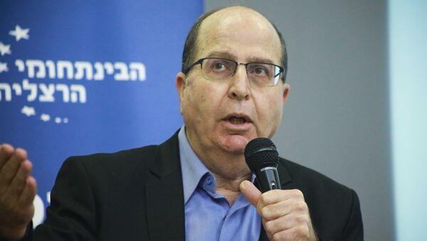 Бывший министр обороны Израиля Моше Яалон