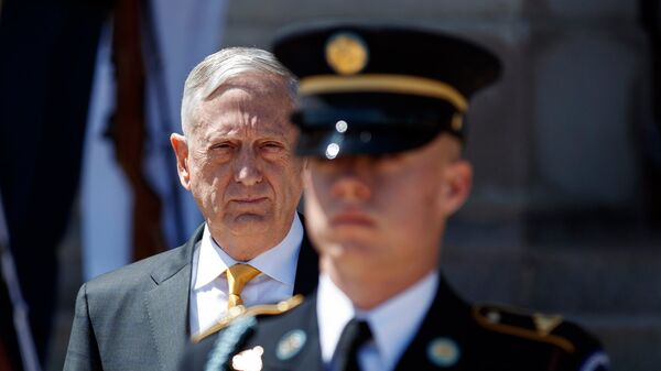 Министр обороны США Джеймс Мэттис. Архивное фото