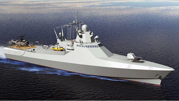 Патрульный корабль проекта 22160. Архивное фото