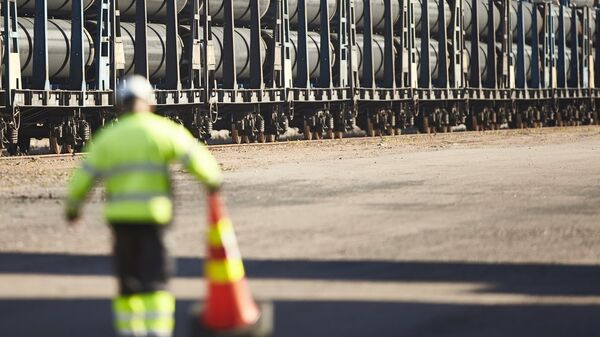 Трубы для строительства трубопровода Северный поток - 2 в финском Котке