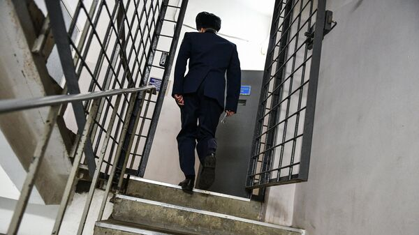 В тюрьме. Архивное фото