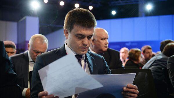 Руководитель Федерального агентства научных организаций Михаил Котюков. Архивное фото